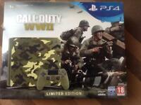 PS4 1TB Limited Edition Call of Duty WW 2 Console