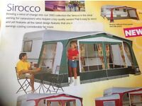 Caravan Awning Porch and 16ft full