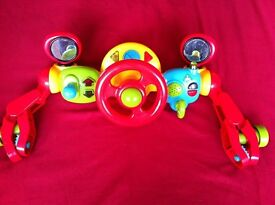 ELC Lights and Sounds Buggy Driver Toy - Red. Still selling for £25!