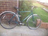 Mans Saracen HY- Lander HY Brid Cycle 21 sp