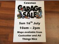 Garage Sale Cawston