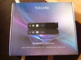 Blade BM8000 combo satellite receiver HD ready