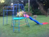 Slide and climbing frame by ELC