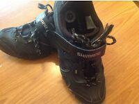Shimano mt43 cycling shoes