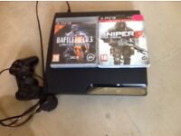 PlayStation 3 plus 2 games