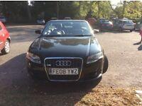 Audi A4 SE TFSI Convertible in black