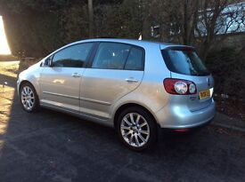 VOLKSWAGEN GOLF PLUS 2.0 GT 140 BHP DIESEL FULLY LOADED DSG