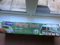 Kingfisher Party Tent 3m x 6m