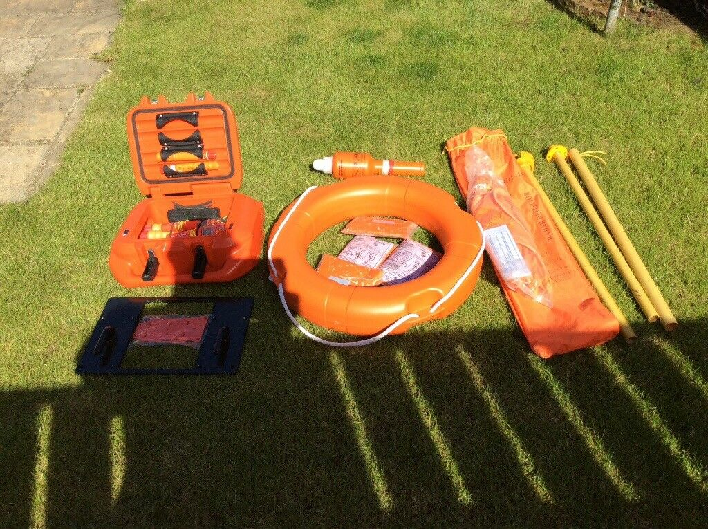 Boat safety equipment liferaft,flares,Epirbs,LifeCell floatation device all  new apart from liferaft  | in Gateshead, Tyne and Wear | Gumtree