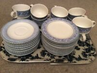 Royal Doulton -RIVOLI design side plates, cups and saucers