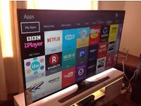 Samsung 55-inch Smart full 4K ULTRA HD LED TV-UE55JU6000,built in Wifi,Freeview,Excellent condition