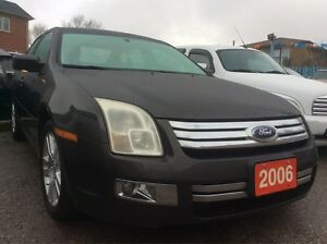 2006 Ford Fusion SEL Navigation Bluetooth Leather Sunroof LOADED