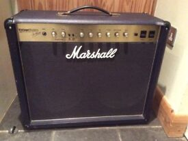 Marshall vintage modern guitar amplifier 2266c with footswitch