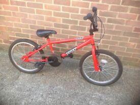 Boy or Girls Trax BMX Cycle