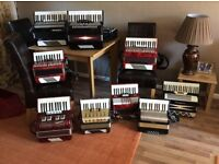 Accordion or melodeons wanted