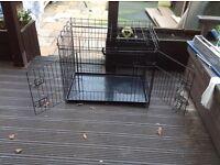 Medium dog cage for sale