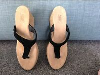 Ugg Wedge ladies shoes - size 6
