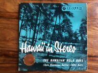 Hawaii In Stereo - The Hawaiian Hula Boys Vinyl EP single