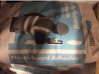 Plasterboard adhesive