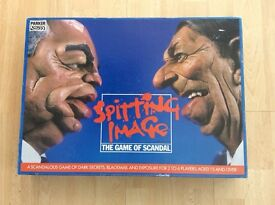 SPITTING IMAGE BOARD GAME FROM 1984