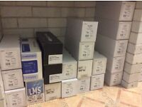 REDUCED FOR QUICK SALE - 5 Full Sets of Replacemnent toner for HP CLJ2600n colour laser printer