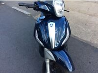 Piaggio Beverly 350 late 2012 reg 4100 miles only
