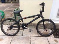 Ruption TXL Black BMX Bike with Ramp