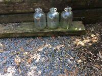 Three Decor Bottles