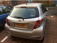 Immaculate Toyota Yaris with low mileage 37,546