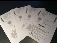The stone roses tickets sunday x4,19th June(etihad stadium)