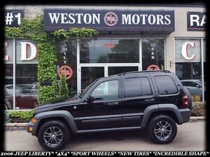 2006 Jeep Liberty 4X4 *SPORT WHEELS *NEW TIRES *INCREDIBLE SHAPE
