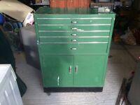 Vintage Dentist Cabinet