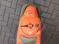 Flymo lawnmower easy reel