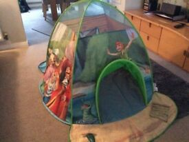 Disney Peter Pan Pop Up Play Tent