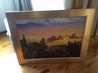 LARGE GENUINE BECKINDALE FINE ART PICTURE PAINTING