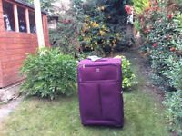 2 suitcases for sale £40 each 77 cmx49cmx30cm buyer collects