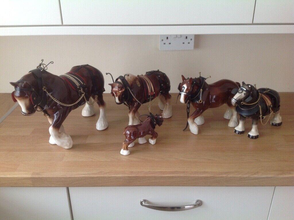 China Horse Ornaments In Maesteg Bridgend Gumtree