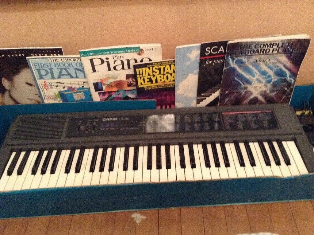 Casio CTK 450 Songbook Keyboard