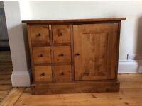 Laura Ashley Chestnut Small Storage Cabinet
