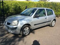 2005 Renault Clio 3 door 1.2 will come mot full year fully serviced etc no faults
