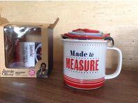 Jamie Oliver ceramic measuring jug set
