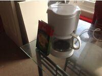White coffee machine £5