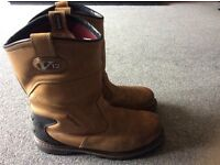 Mens safety work boots