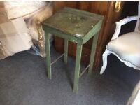 Old child rocking chair & desk