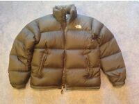 TNF Nuptse 1 jacket, medium.