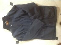 Barbour style jacket