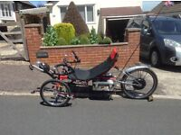 Electric Recumbent tricycle.