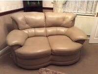 2 X 2 leather sofas
