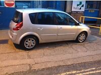 Renault megane scenic 2008 AUTOMATIC service history