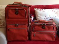 Eminent cabin baggage case with matching bag size H54 x W35 x D20 cm used once beautiful quality